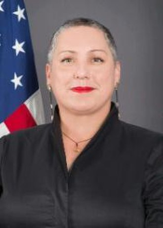 Assistant Secretary of State for International Narcotics and Law Enforcement Affairs - Image: Kirsten D. Madison official photo