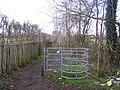 Kissing Gate on footpath - geograph.org.uk - 1131153.jpg