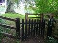Kissing gate - geograph.org.uk - 965100.jpg