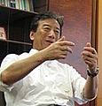 Kiyoshi Kurokawa cropped Kiyoshi Kurokawa and Eric Hargan 20070711.jpg