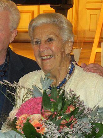 Kjerstin Dellert - Dellert at her 90th birthday tribute in 2015