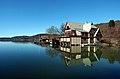 Klagenfurt Friedelstrand 11 Boots- und Rudervereinshaus Albatros 19022008 03.jpg