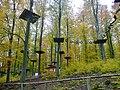 Kletterpark, Hochseilgarten am Edersee beim Abenteuerwald - panoramio.jpg