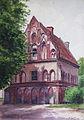 Kloster Lehnin 1900, Aquarell.jpg