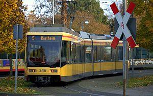 Linie 5 Karlsruhe