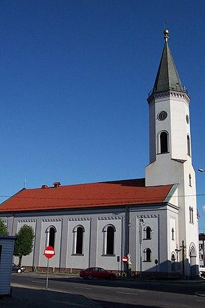 Dobrodzień - Image: Kościół Św. Marii Magdaleny w Dobrodzieniu 2