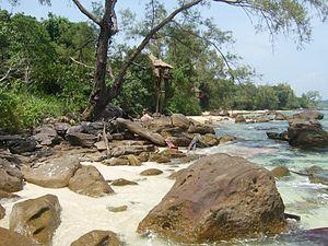 Koh Rong - bungalows