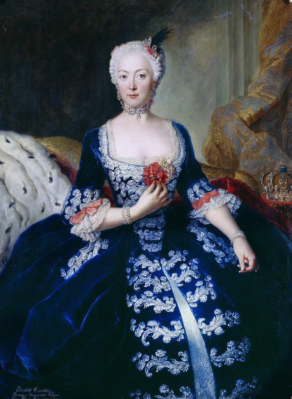 Koningin elisabeth christine