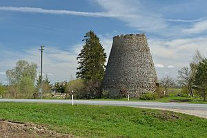 Koonu - Ruins of Koonu windmill