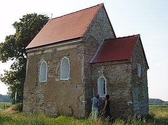 Pre-Romanesque art and architecture - Church of St. Margaret of Antioch, Kopčany (Kopčany, Slovakia, 9th-10th century).
