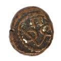 Kopparmynt, 1646-1667. 2 kas, 2 doit. Holländska Indien - Skoklosters slott - 108653.tif