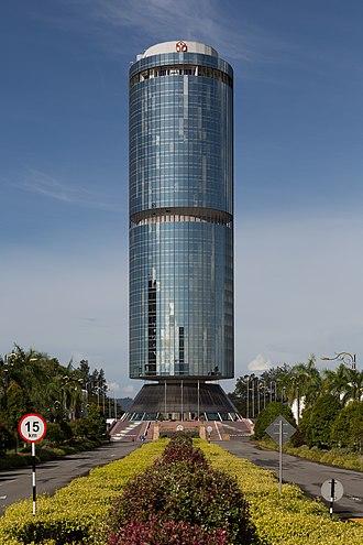 Tun Mustapha Tower - Image: Kota Kinabalu Malaysia Tun Mustapha Tower 01