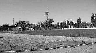 Polytechnic Stadium (Kremenchuk) - Image: Kremenchuk Polytechnic Stadium 1