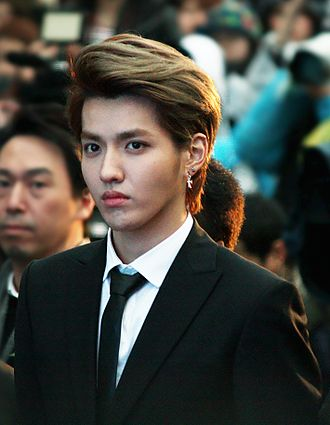 Kris Wu - Wu at the Hallyu Star Street on March 12, 2014.