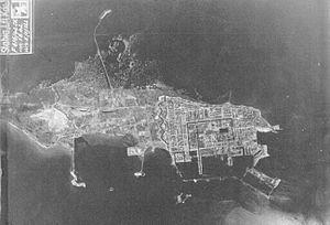 Kotlin Island - Luftwaffe aerial reconnaissance photo of Kotlin Island, 1 June 1942