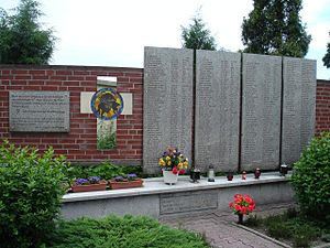 97th Jäger Division (Wehrmacht) - The 97th JD Memorial to the Victims of Wars, Krzanowice