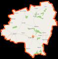 Kuczbork-Osada (gmina) location map.png