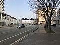 Kumamoto Prefectural Road No.22 on east side of Kumamoto Station.jpg