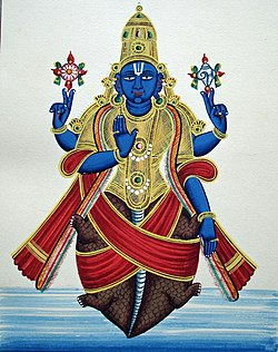 Incarnation of Vishnu as a Turtle