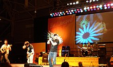 Kutless in concert on 2007
