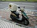 Kymco scooter of President Transnet 20100623.jpg