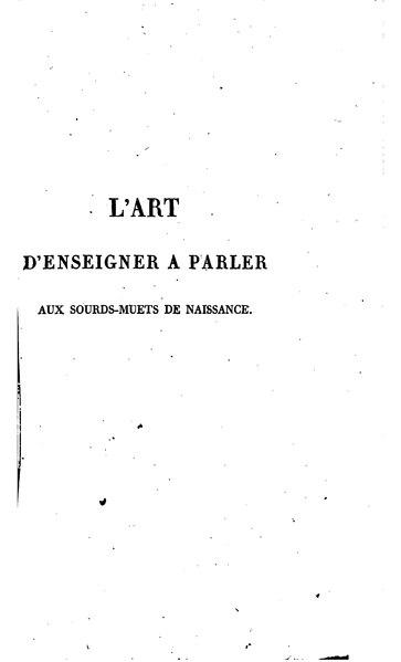 File:L'Épée-Bébian.- Art d'enseigner aux sourds-muets, 1820.djvu