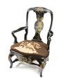 Länstol, rokoko - Hallwylska museet - 109831.tif