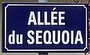 L1686 - Plaque de rue - Allée du Sequoia.jpg