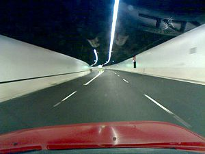 Lane Cove Tunnel - Inside the Lane Cove Tunnel