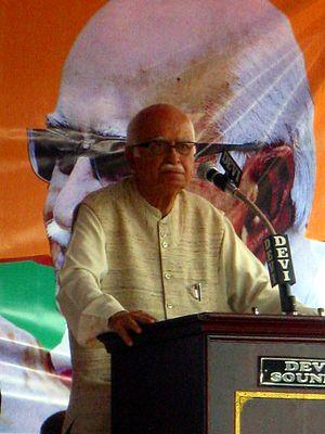 Lal Krishna Advani cover