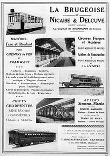 La Brugeoise Nicaise Et Delcuve Wikip 233 Dia