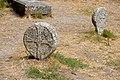 La Couvertoirade (Aveyron) basque steles in the cemetery (20127026211).jpg