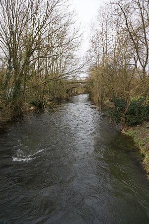 Barenton-sur-Serre - Image: La Souche le pont chemin de fer 07674