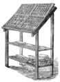 La casse d'imprimerie avec ses cassetins ou compartiments pour les diverse lettres.png