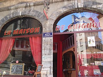 Place de la Trinité - The Guignol's house