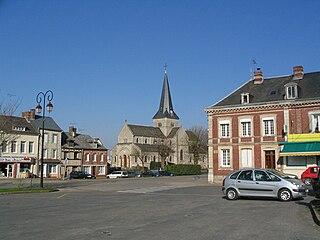 Saint-Laurent-en-Caux Commune in Normandy, France