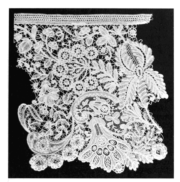 Lace, Its Origin and History - Wikisource, the free online library