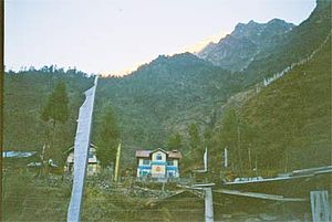 Lachung - Image: Lachung 2