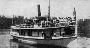 Lady of the Lake (steamboat, 1897) - Image: Lady of the Lake (steamboat)