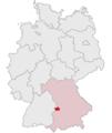 Lage des Landkreises Dillingen a.d.Donau in Deutschland.png