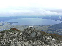 View of Inawashiro Lake from Mount Bandai