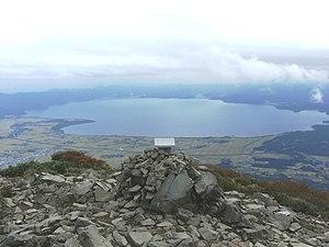 Inawashiro, Fukushima - View of Inawashiro Lake from Mount Bandai