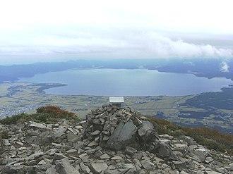 Inawashiro - View of Inawashiro Lake from Mount Bandai
