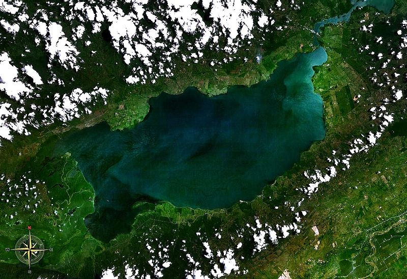 Vaizdas:Lake Izabal NASA.jpg