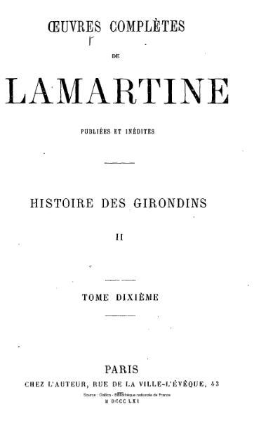 File:Lamartine - Œuvres complètes de Lamartine, tome 10.djvu