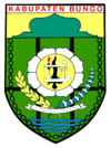 Official seal of Bungo Regency