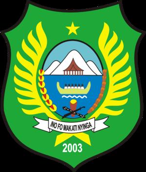 West Halmahera Regency - Image: Lambang Kabupaten Halmahera Barat