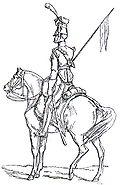 Lanciere a cavallo della Vecchia Guardia Adolphe de Chesnel