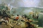 Landschaft mit Sturz des Ikarus Pieter Breughel d Ä.jpg
