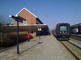 Langå - Image: Langaa station